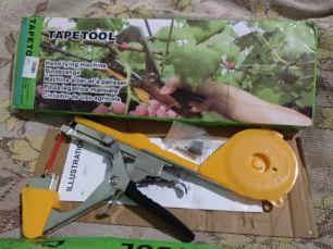 степлер для подвязки растений